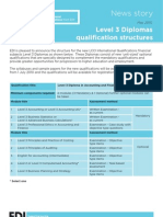 Level-3 DiplomasQualificationsstructures