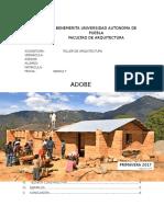 Adobe en la arquitectura vernacula