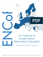ENCoRE - On Practice in C-R Education - 2014