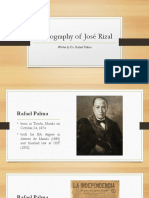 Biography of Rizal_Rafael Palma