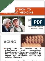Geriatric Medicine Lecture (Original)