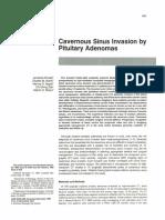 Cavernous Sinus Pituitary Adenoma