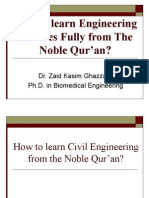 Learning Civil Engineering from The Qur'an