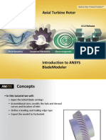 Axial Turbine Design by ANSYS BladeModeler - (Www.cfdiran.ir)