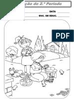 Fichas de Avaliação do 2º Período.ppt