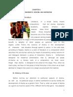 Diktat the Study of Drama