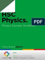 HSC Physics  Space Workbook