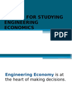 1.2. Reason for Studying Engineering Economics