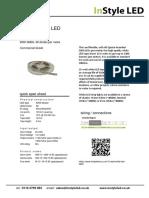 15 Watt White LED Tape Datasheet