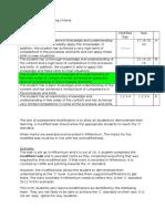 Assessment Task Marking Criteria for Assess,Emts