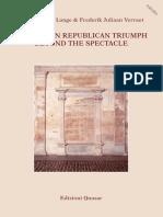 The Triumph in the Roman Republic