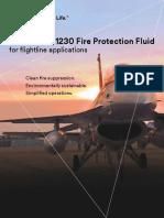 3m Novec 1230 Fire Protection Fluid Flightline Applications