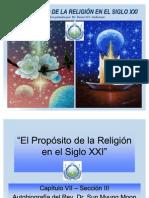 El Proposito de La Religion en El Siglo XXI