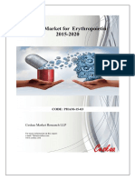 Global Market for Erythropoietin