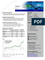 Factsheet AlfaAdvisors' Total Return Wikifolio Eng Q4/16