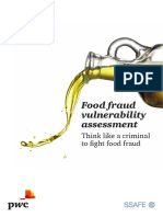 Pwc Food Fraud Vulnerability Assessment