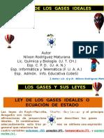 Síntesis-Ley de Los Gases Ideales-Autor-Nilxon Rodríguez Maturana-Lic. Q y B