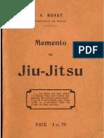 Memento de Jiu Jitsu B. BUVAT 1906