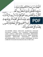 sholawat nariyah