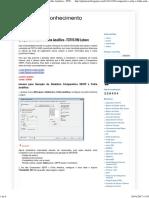 Gestão Do Conhecimento_ Comparativo SEFIP x Folha Analítica - ToTVS RM Labore