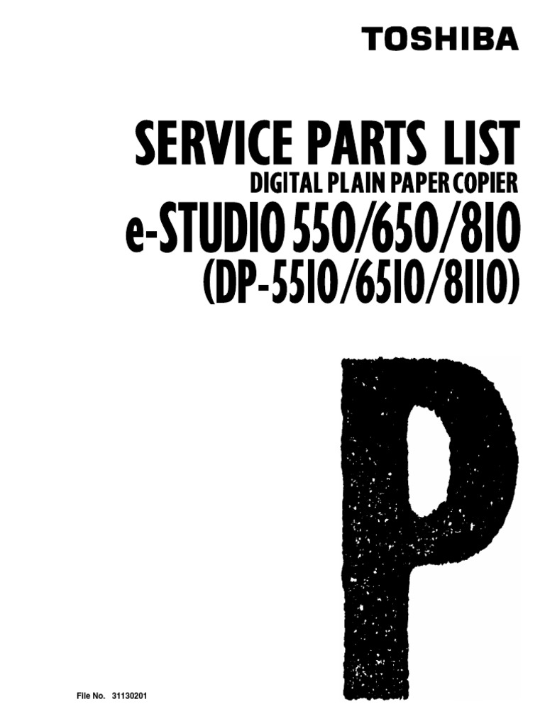 Toshiba e-studio 550-650-810 Service Parts List.pdf