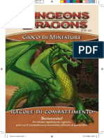 D&D Miniature Game Manuale 20