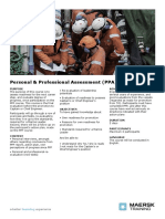 Personal & Professional Assessment (PPA)
