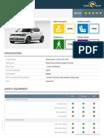 Euroncap Suzuki Ignis Suzuki Ignis Datasheet