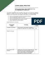 Pre-Sept Registrant Only Assessment Criteria for Student Completion