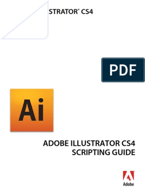 Illustrator Scripting Guide | Scripting Language | Adobe