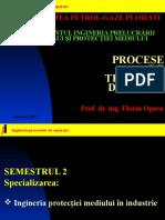 1 IPM PTM Introducere Procese de Separare 2013