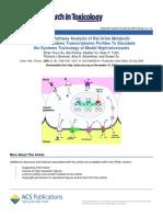 Integrative Pathway Analysis of Nephrotoxicity