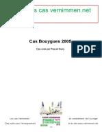 Enonces Cas Bouygues 2005