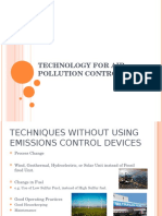 Technologies for Air Pollution Control-Part 1