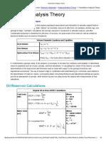 Volumetrics Analysis Theory
