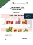 Tapal ( Term Report)