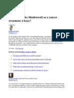 The EBC 46 Cancer Treatment