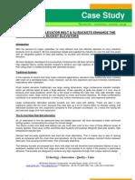 Sj Elevator Buckets and Steel Web Belt - Case-study