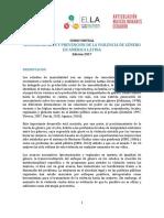 PROGRAMA CURSO VIRTUAL MASCULINIDADES Y PREVENCIÓN DE LA VIOLENCIA DE GÉNERO  EN AMÉRICA LATINA Edición 2017