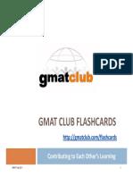 GMAT Flashcards v7.1