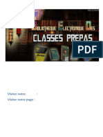 H-prepa-Électronique Électrocinétique 1re Année MPSI