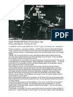 Bill Evans Downbeat 1962 Gene Lees