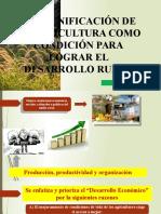 La Tecnificación de La Agricultura Como Condición