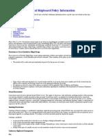 General Shipboard Policy Information Ship Signals