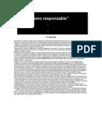 OPINIÓN - Kirchnerismo Responsable