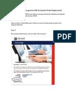 Instructivo Para Generar Nip de Tarjetas Ticket Empresarial