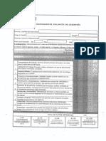 Cuestionario de Evaluación Del Desempeño 011