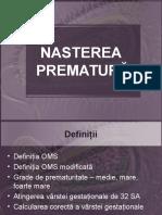 15.NASTEREA  PREMATURA