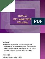 Boala inflamatorie pelvina