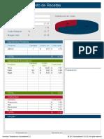 Calculadora de Costo de Recetas